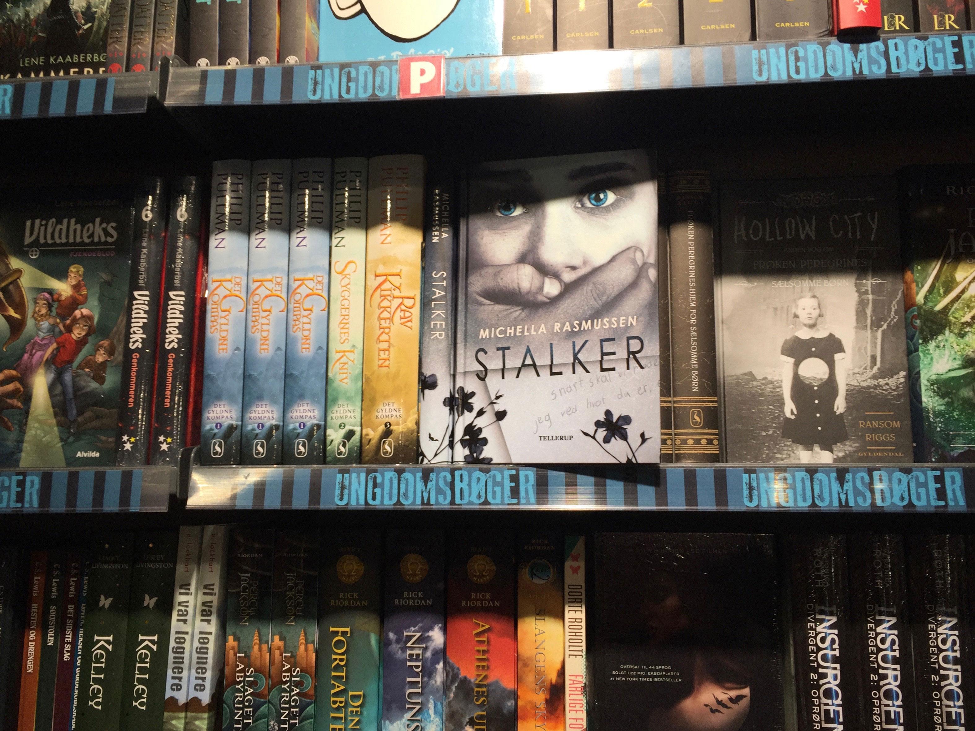 Stalker i boghandleren