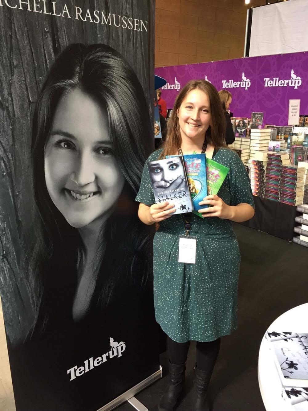 BogForum 2017 - Mig med mine tre bøger